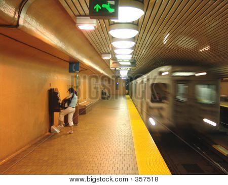 The Speeding Subway