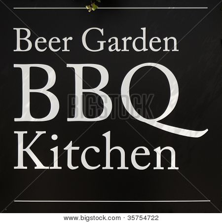 The BBQ and Beer Garden