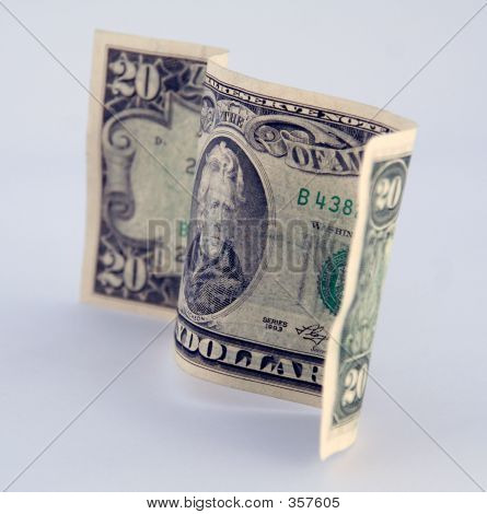 American Money 20 Twenty Dollar Bill