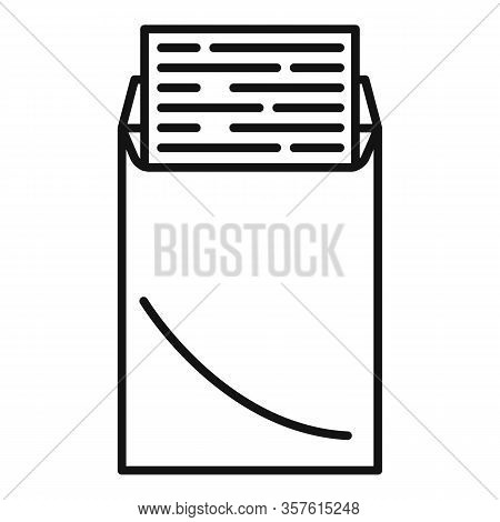 Editor Icon. Outline Editor Vector Icon For Web Design Isolated On White Background