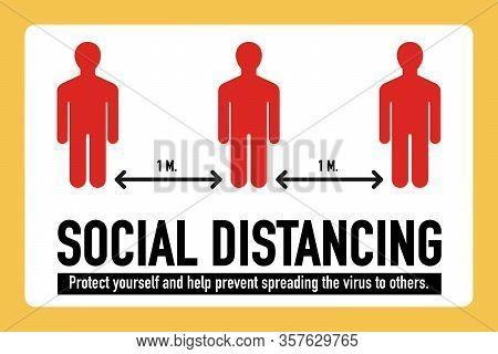 Social Distancing, Stop Covid-19 Coronavirus Concept. Novel Coronavirus (2019-ncov). Protect Yoursel