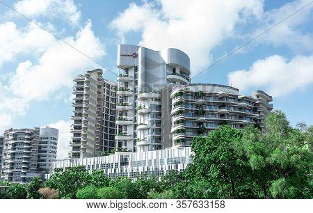 Ng Teng Fong General Hospital, Jurong East, Singapore, March 26, 2020