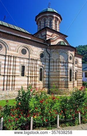 Cozia Monastery Orthodox Church In Romania, Medieval Monument