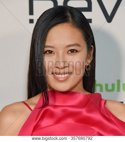 LOS ANGELES - MAR 02:  Christine Ko Christine Ko arrives for FX's Limited Series 'Devs' Los Angeles Premiere on March 02, 2020 in Hollywood, CA