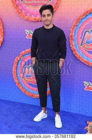 LOS ANGELES - MAR 07:  Karan Brar arrives for 'Mira, Royal Detective' World Premiere on March 07, 2020 in Burbank, CA