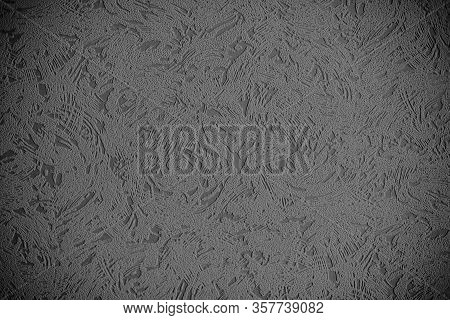 Black And White Background With A Pattern. Gray Background With A Pattern. Odd Color Background. Abs