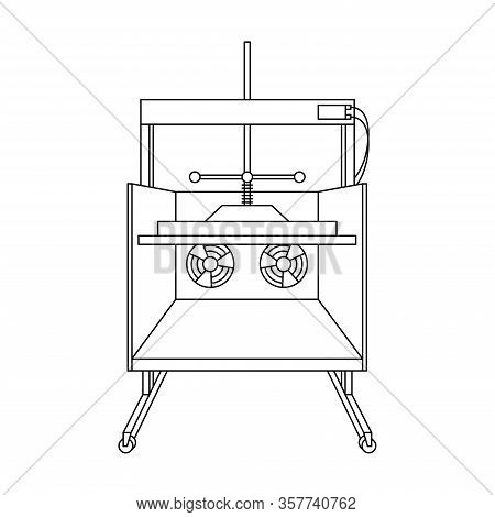 Hollander Beater And Papermaking Equipment Icon Set