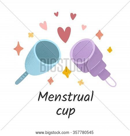 Menstrual Cups, Various Silicone Cups For Womens Menstruatio Cycle, Reusable Supplies For Periods, Z