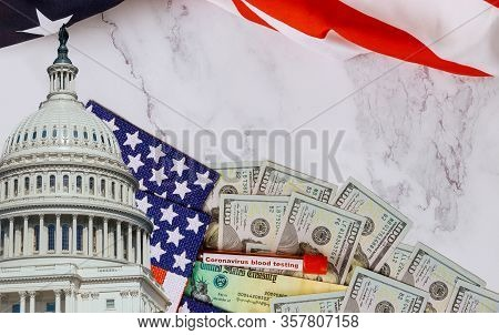 Senate And House Of Representatives Of United States Government The Stimulus Package Financial Packa