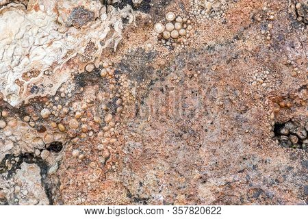 Stone Texture Or Stone Background. Stone For Interior Or Stone For Exterior Decoration. Stone Motifs