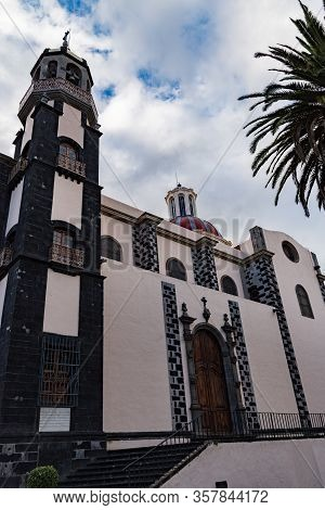 La Orotava, Spain -january 12, 2020: Church Of Nuestra Senora De La Concepcion (church Of Our Lady O