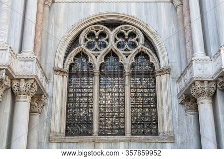 The Windows Of The Basilica
