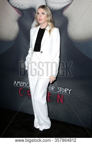 LOS ANGELES - OCT 3:  Lily Rabe at the American Horror Story 100th Episode Celebration at the Hollywood Forever on October 3, 2019 in Los Angeles, CA