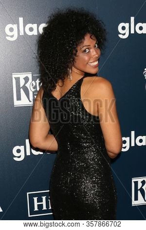 LOS ANGELES - APR 1:  Karla Mosley,  at the 28th Annual GLAAD Media Awards at Beverly Hilton Hotel on April 1, 2017 in Beverly Hills, CA