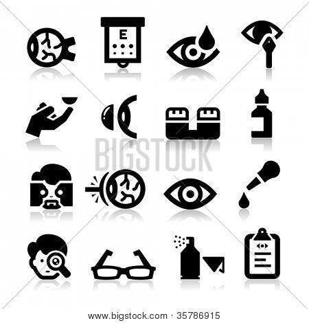 Iconos de Optometría