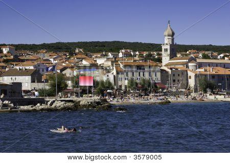 Krk Old Town, Croatia