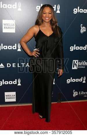 LOS ANGELES - APR 1:  Garcelle Beauvais at the 28th Annual GLAAD Media Awards at Beverly Hilton Hotel on April 1, 2017 in Beverly Hills, CA