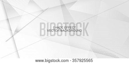 Halftone Modern Gray Vector Background. Pop Art Light Dots Texture. Halftone Wallpaper. Gray White S