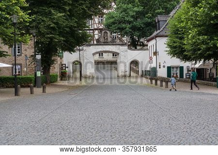 Altenberg, Nrw, Germany - July 10; 2017: The Altenberger Dom Is Also Called Bergischer Dom And Is A
