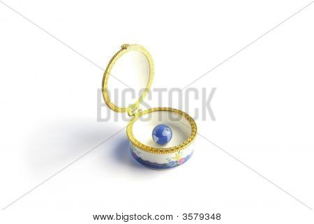 Globe In Jewel Case