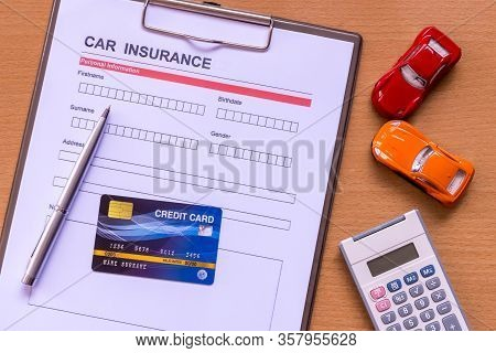 Car Insurance Form With Model And Policy Document