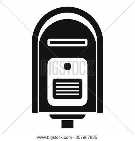 Full Mailbox Icon. Simple Illustration Of Full Mailbox Vector Icon For Web Design Isolated On White