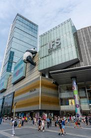 Chengdu, China - Aug 28, 2019: View Of Ifs In Chengdu, China. It Is A Shopping Mall In The Core Busi