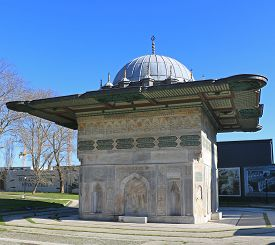 25/02/2020 Tophane, Istanbul: A View Of Tophane Fountain In Istanbul, Turkey.it Was Built By Ottoman