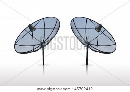 Satellite Dish Isolated