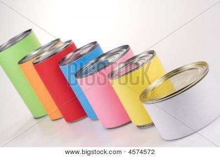Anonym Colored Cans