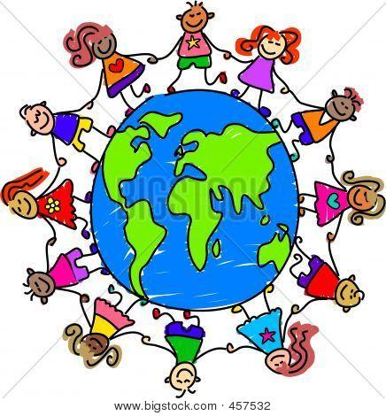 Welt Kinder