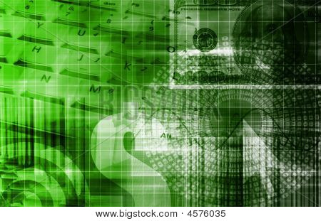 Green Money Technology Business Background