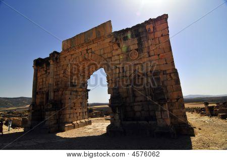 Roman Ruins Of Volubillis