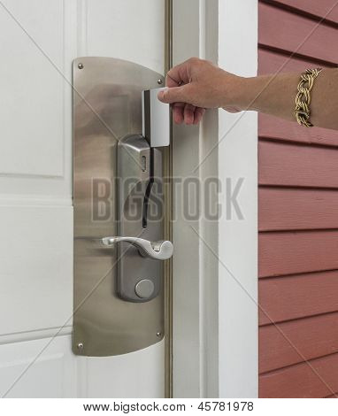 Keycard access to room