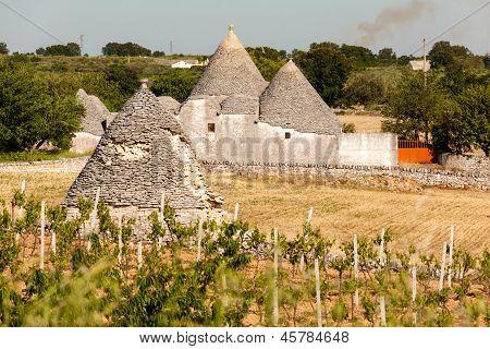 Ancient Trulli