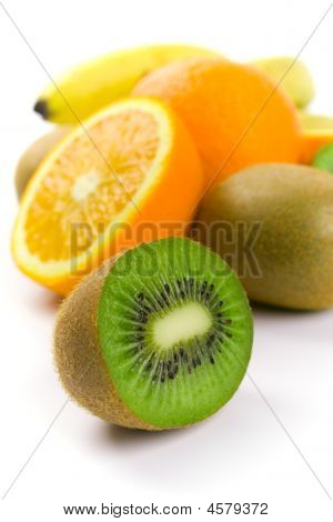Kiwi, Oranges And Bananas