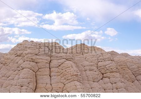 White Pocket On The Paria Plateau
