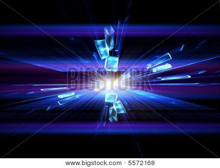 Crystal Explosion, Blast