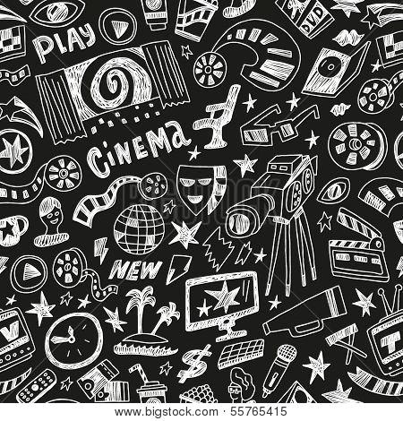 cinema - seamless background