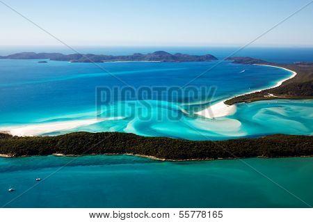 Whitehaven Beach Aerial