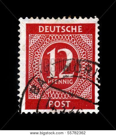 Old Postage Stamp, Germany
