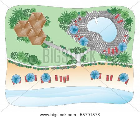 Beach Landscape Plan