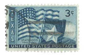 United States Stamp of Texas Statehood