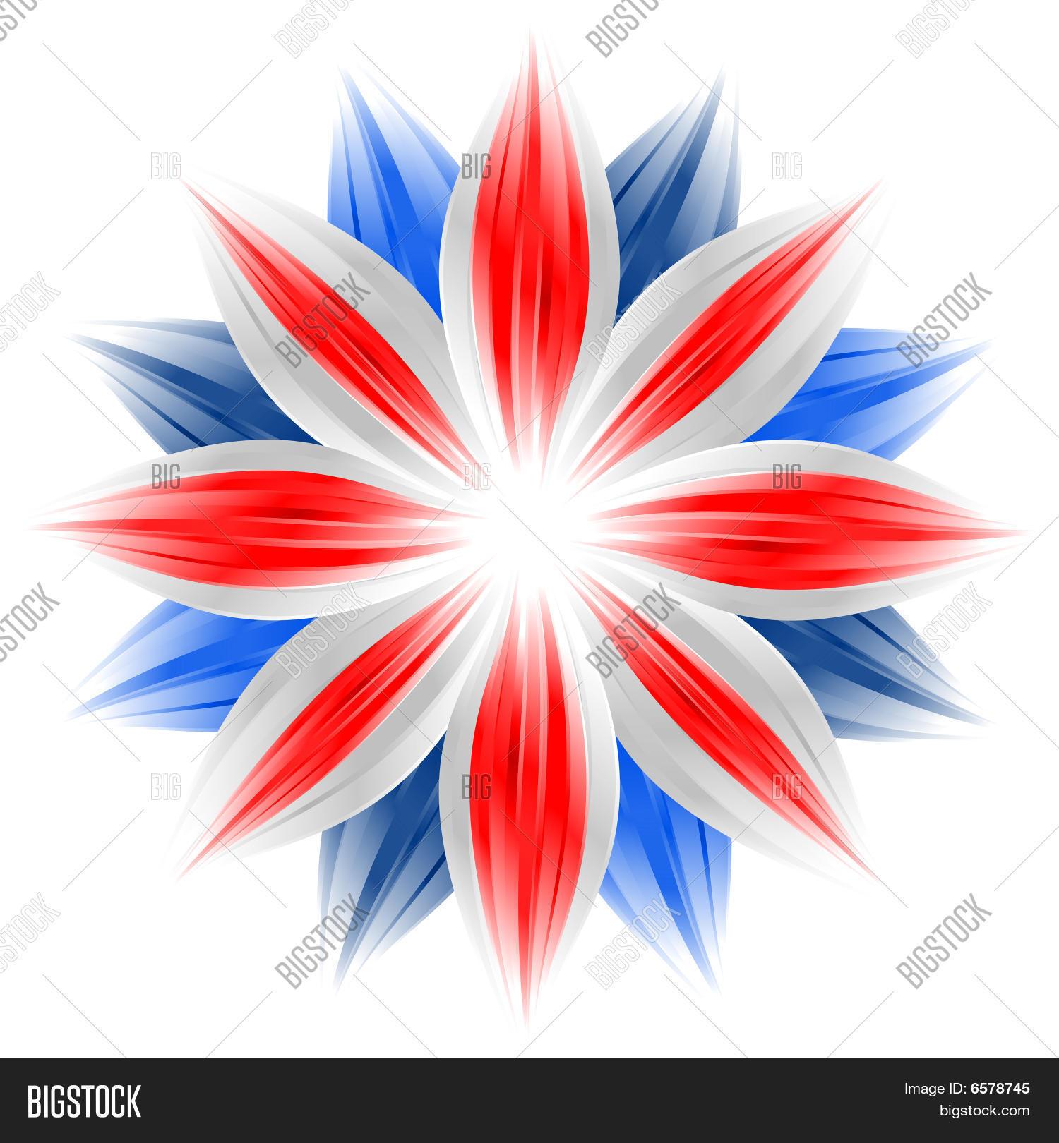 Flower British Flag Image Photo Free Trial Bigstock