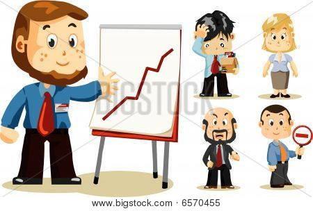 Presentation. Business People