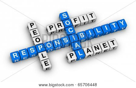 social responsibility crossword puzzle