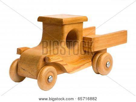 Wooden Truck Arriving