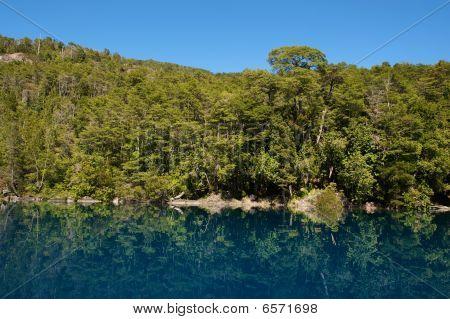 Emerald Patagonian Lake