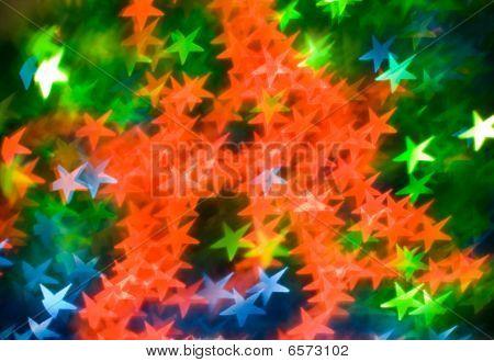 Coloured Asterisks