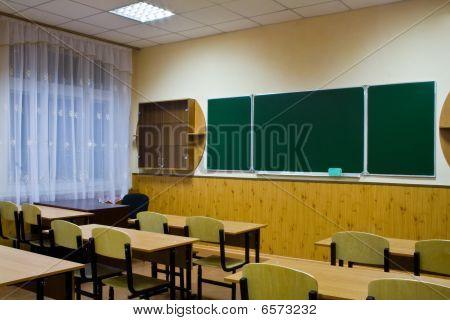 Empty Clean School Room